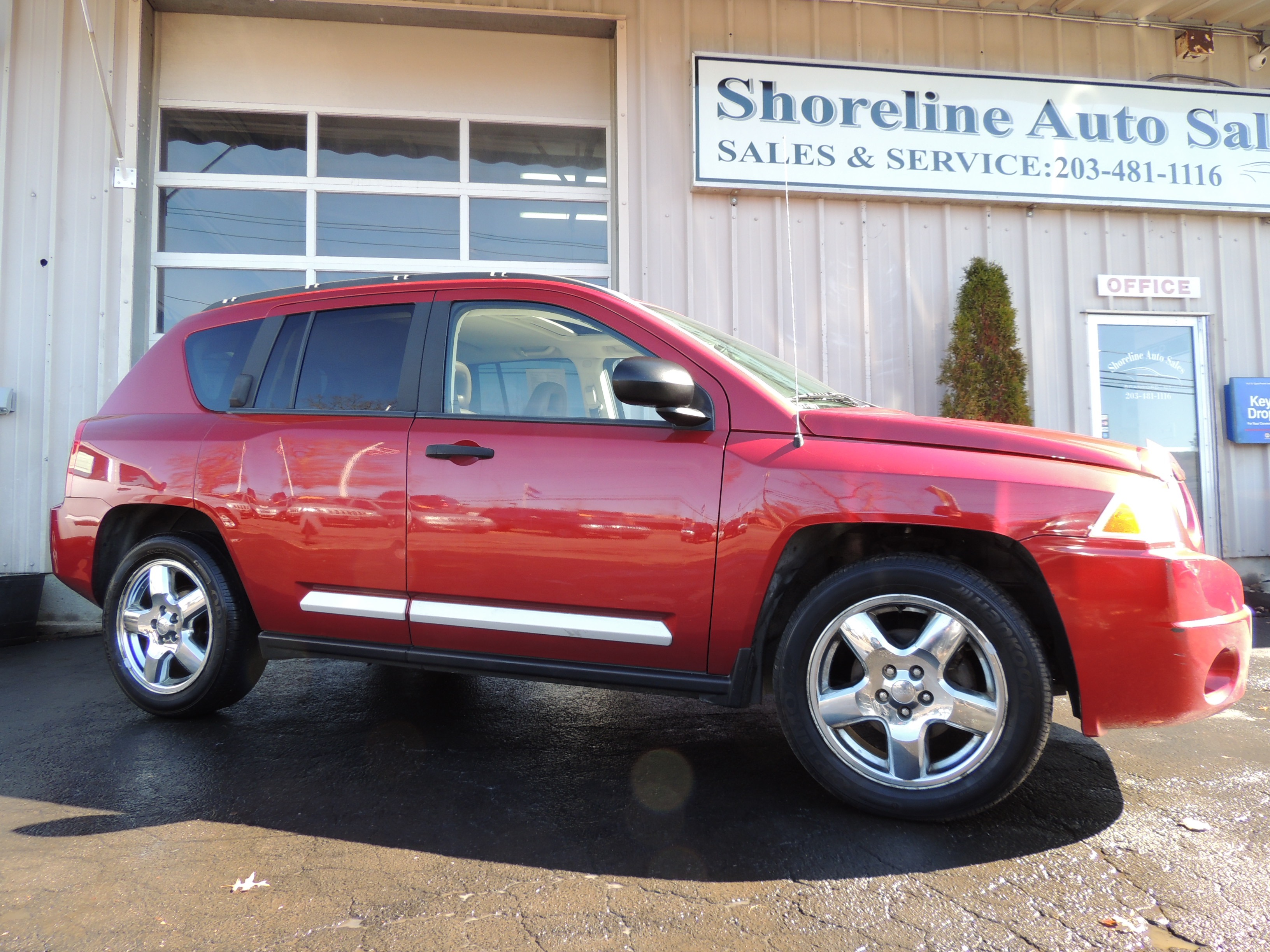 2007 jeep compass limited edition shoreline auto sales. Black Bedroom Furniture Sets. Home Design Ideas