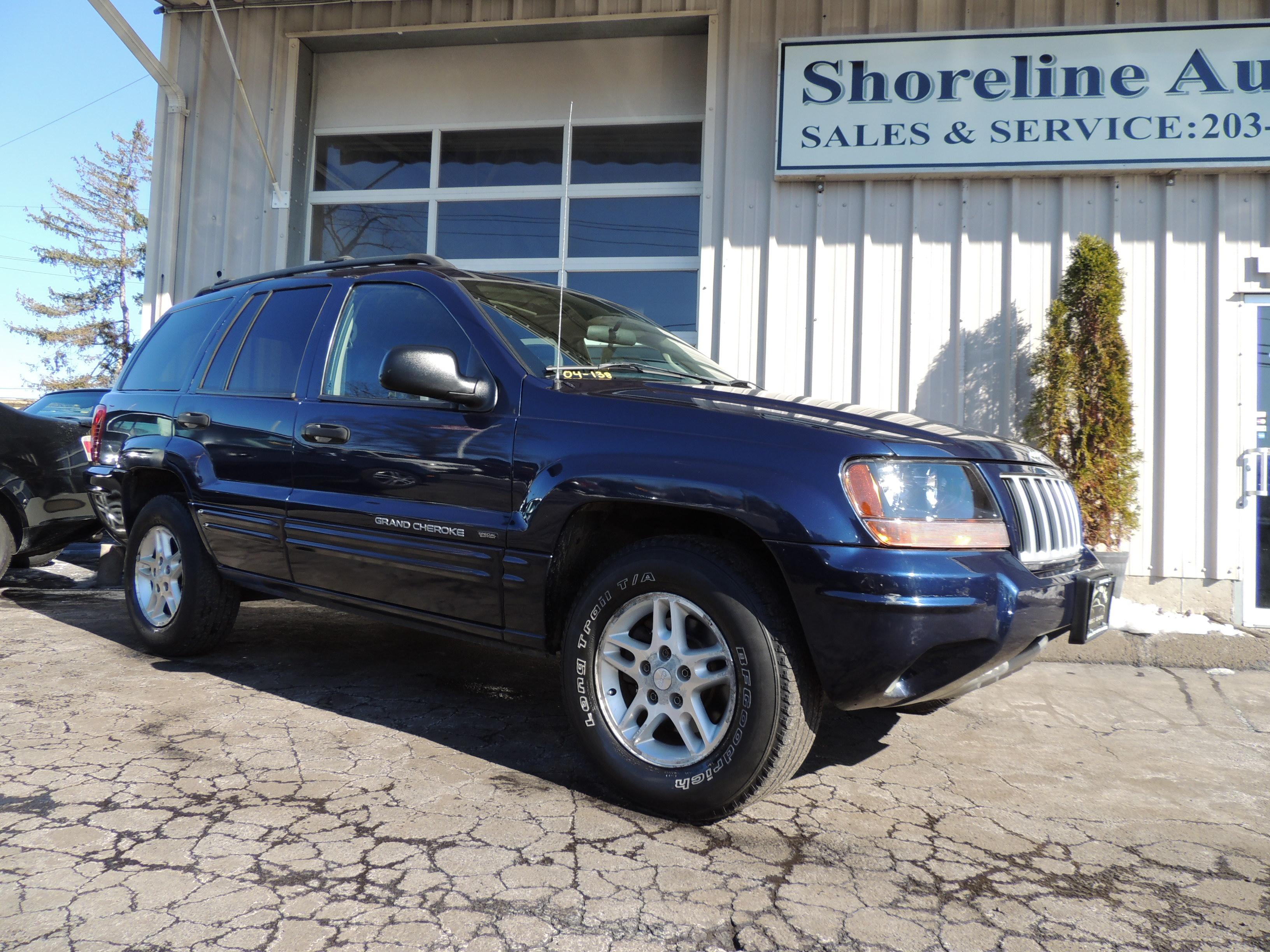 2004 jeep grand cherokee special edition shoreline auto sales. Black Bedroom Furniture Sets. Home Design Ideas