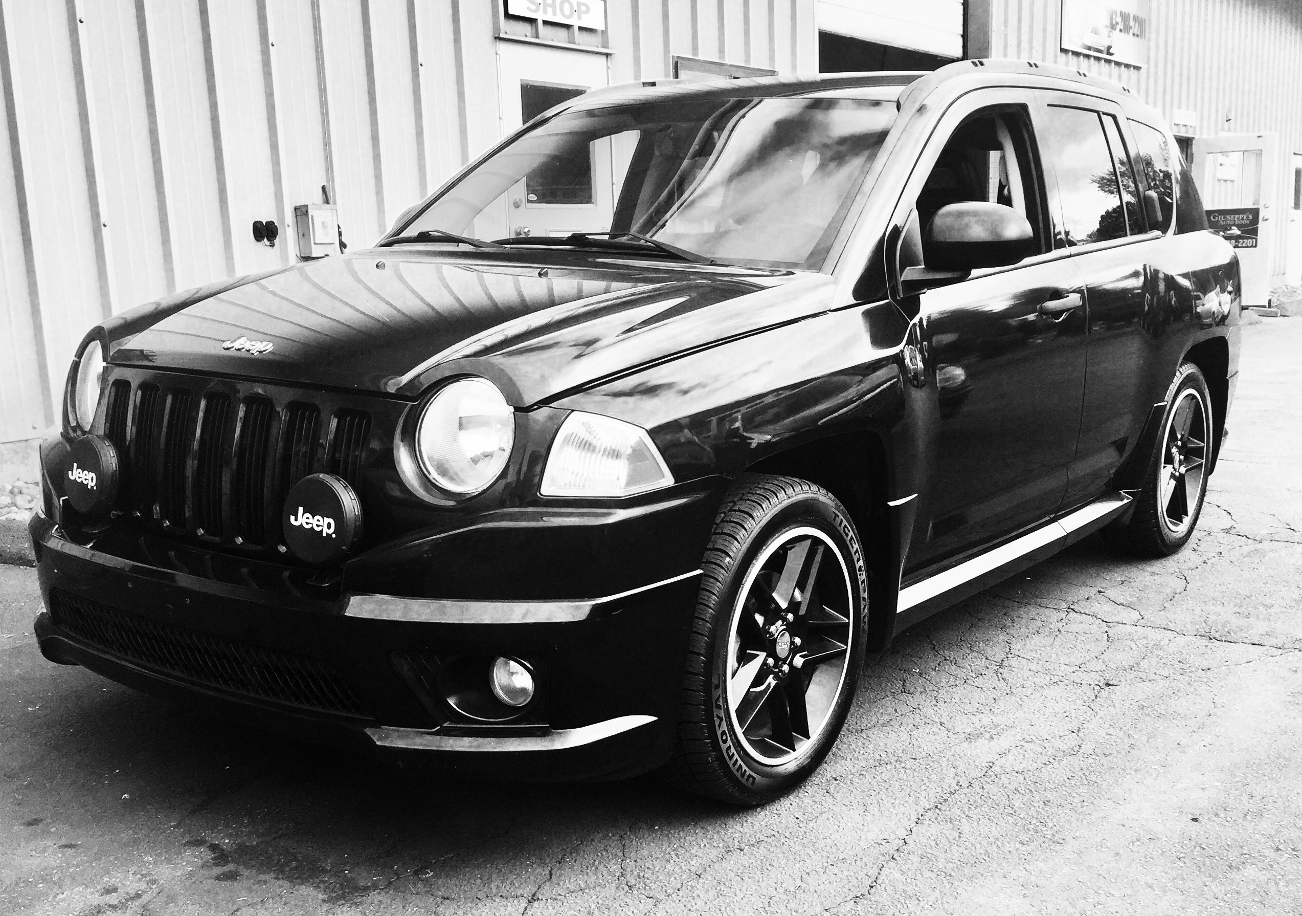 2009 Jeep pass Rallye Edition