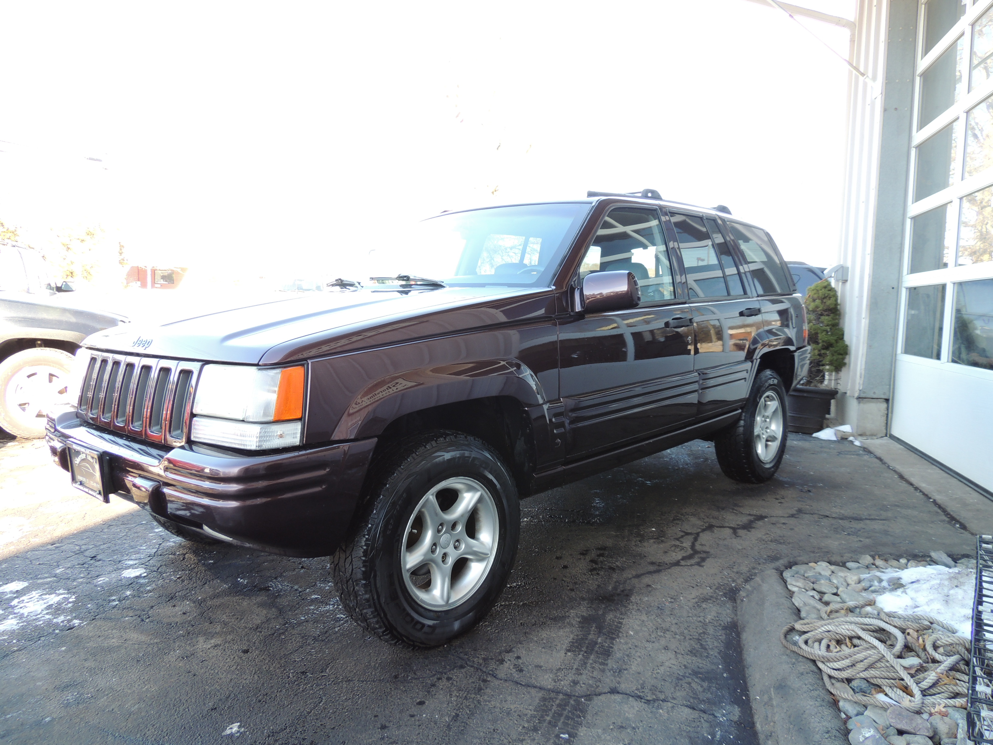 1997 jeep grand cherokee limited edition shoreline auto sales. Black Bedroom Furniture Sets. Home Design Ideas