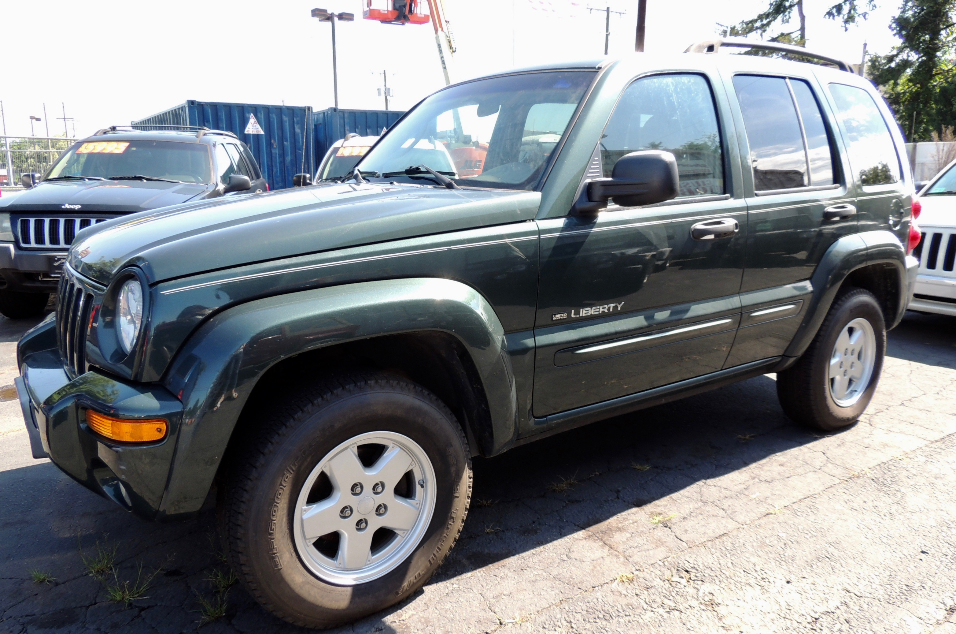 2002 2002 Jeep Liberty Limited Edition