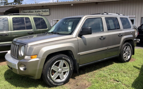 2007 2007 Jeep Patriot Limited Edition